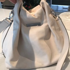 Ivory Marc Jacobs bag with crossover strap